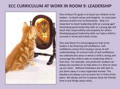 AN EXAMPLE OF ECC CURRICULUM IN ROON 9: FOSTERING LEADERSHIP THROUGH SELF-CONFIDENCE