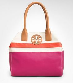 Tory Burch Dipped Canvas Beach Tote