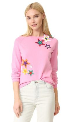 Mira Mikati Patched Star Sweater