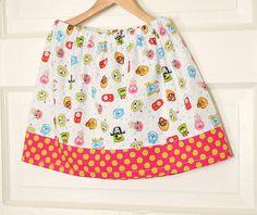 Children Clothing Skirt Yo Gabba Twirl Skirt