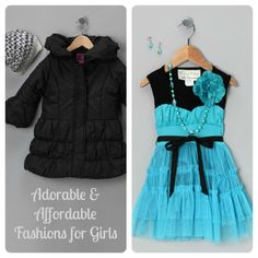 Seriously adorable girls fashions - big discounts on kids clothes!