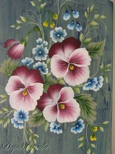 Donna Dewberry One Stroke Painting Patterns Free Fabric Painting, Painting On Wood, Painting Flowers, Donna Dewberry Painting, Fabric Paint Designs, Tole Painting Patterns, Wood Patterns, One Stroke Painting, China Painting