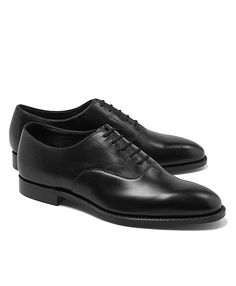 Calfskin Form Lace-Ups - Brooks Brothers
