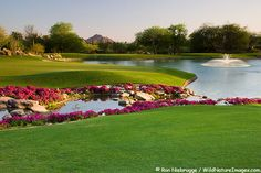 The 7th Hole on the Canyon Golf Course at the Phoenician Resort in Scottsdale, Arizona