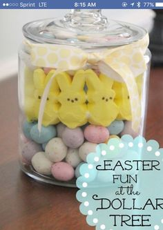 Easy inexpensive idea for Easter