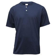 DRIVE HOME $13.31 NAVY LRG Soffe - Soffe Men's Short Sleeve Two Button Henley Placket Shirt - Walmart.com Honeymoon Packing, Packing For A Cruise, Winter Tops, Summer Tops, Purple Outfits, Dinner Outfits, Columbia Blue, Walmart Shopping, Buttons