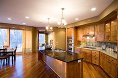 Country Kitchen Floor Plan | Plan 091D-0027 | House Plans and More