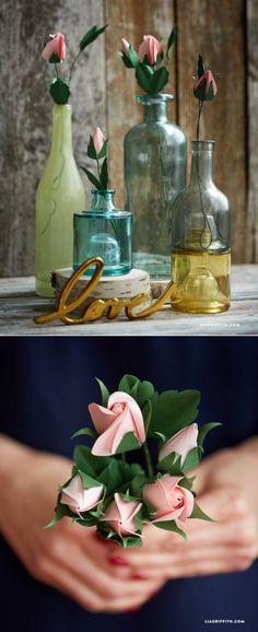 #paperrose #rosebud #paperflowers #diyflowers #papercraft #paperart liagriffith.com/?utm_content=buffer4cc3e&utm_medium=social&utm_source=pinterest.com&utm_campaign=buffer: