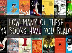How Many Of These Young Adult Books Have You Read (29/75...plus several more on my to-read list!)