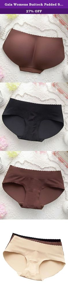 974277c4a105 Gxia Womens Buttock Padded Shaper Panty 3 - Pack. Email us if you need  avariety
