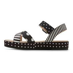Women's Sam & Libby Georga Quarter Strap Platform Sandals