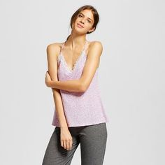 Women's Lace TankTops Black - Xhilaration™