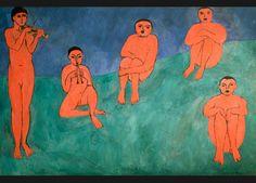 Henri Matisse, La Musique, collection Sergueï Chtchoukine