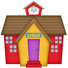 free clip art of an old fashioned little red school house sweet rh pinterest com