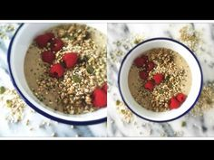Buckwheat Berry Breakfast Bowl. Great Breakfast or Snack to Burn Fat & Have More Energy! www.julieslifestyle.com #RawFood #RawVegan #Vegan #DairyFree #GlutenFree #Breakfast #Buckwheat #BreakfastBowl #GranolaBowl