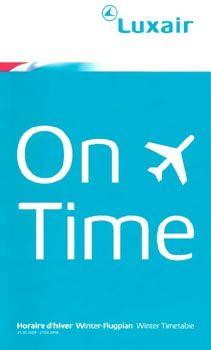 Luxair timetable 2009