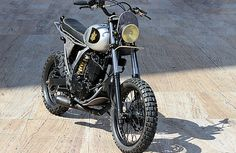 Cafe Racer Pasión — Suzuki DR650 Street Tracker by Yellowood |...