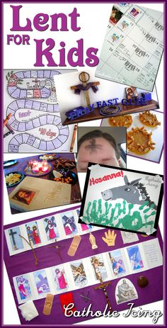 If you're looking for ways to observe Lent with your kids this year, you've come to the right place! Browse all my Lenten resources for families by subject below. Click on the link for…