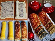 Gabriella kalandjai a konyhában :): Bejgli Hungarian Recipes, Kaja, Christmas Desserts, Sausage, Delish, Goodies, Yummy Food, Sweets, Food And Drink