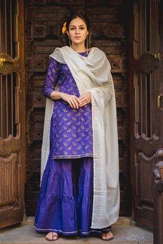 PP Chidiya Kurta Set with Ivory Dupatta Anarkali Churidar, Anarkali Dress, Anarkali Suits, Salwar Kameez, Maroon Color, Pink Color, Patiyala Dress, Designer Salwar Suits, Shopping Websites