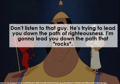 ~Kronks Conscience, The Emperors New Groove