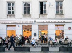Carpaccio - Opinie o restauracjach w Warszawie Warsaw, Street View, Spaces, Poland