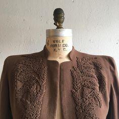 1940s tailored jacket
