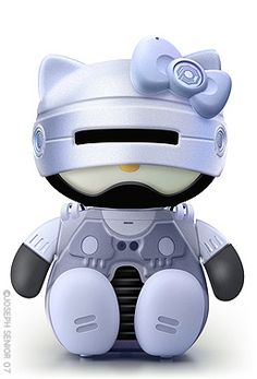 Robocop 18 Pop Culture Hello Kitties That Need To Exist Hello Kitty Toys, Hello Kitty Art, Hello Kitty Themes, Kitty Kitty, Hello Hello, Little Twin Stars, Hello Kitty Characters, Sanrio Characters, Bobtail Cat