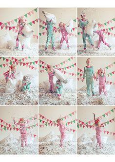 PJ pillow fight...found my next photo shoot...L-O-V-E!!!!!