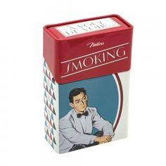 Etui à paquet de cigarettes « Smoking no smoking » - Natives - Déco rétro & vintage