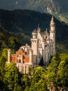 Neuschwanstein Castle, Germany by Ragnar Thorarensen