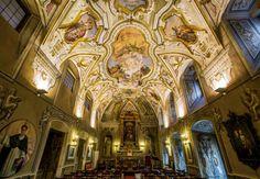 Visitare Palermo in Primavera e vedere l'Oratorio della Carità di San Pietro