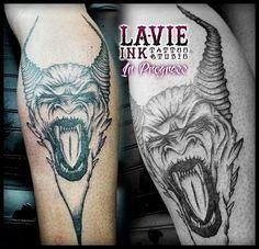 Evil #evil #tattoo #bad #tattooer #tattooartist #tatuagem #tatuador