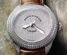 Our stunning Piccadilly Pave Ideal Cut Diamond, Diamond Cuts, White Gold, Bling, Jewels, Watches, Luxury, Leather, Accessories