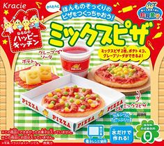 Mix Pizza Popin Cookin Kit DIY Candy By Kracie for sale online Japanese Snacks, Japanese Candy, Japanese Sweets, Ramen, Gourmet Recipes, Snack Recipes, Candy Recipes, Pizza Kitchen, Long Nails