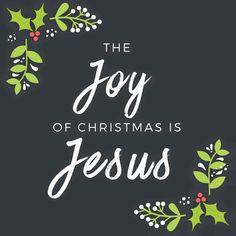 The Joy of Christmas is Jesus   https://www.facebook.com/DonMoenMusic/photos/10153459103659753