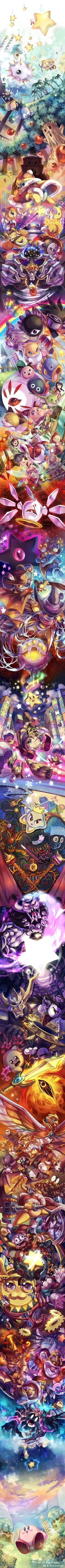 Kirby of the Stars <--- Oh my gosh, now I have an awesome Zelda 25th anniversary banner artwork AND a Kirby 20th anniversary banner artwork.
