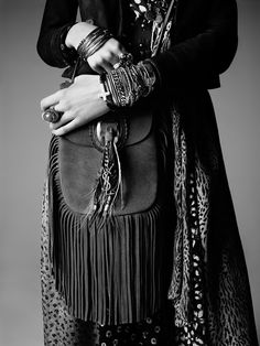 The PSYCH ROCK collection from Saint Laurent by Hedi Slimane   Vogue Paris