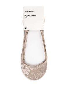 Floral Mesh Footliners   Woolworths.co.za Lingerie Sleepwear, Hosiery, Mesh, Socks, Floral, Accessories, Women, Fashion, Moda