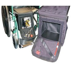 Wheelchair Down Under Storage Bag...A Space for Princess too!! or to use for extra storage ( clothing, towels, lunch etc...)