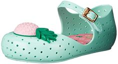 Mini Melissa Furadinha VII BB Mary Jane Shoe (Toddler), Green, 7 M US Toddler: Precious mary jane toddler shoes with pinapple detail. Made in brazil, 100 percent recyclable plastic. Cute Girl Outfits, Mary Jane Shoes, Shoe Storage, Toddler Shoes, Flats, Sandals, Girls Shoes, Crocs, Mary Janes