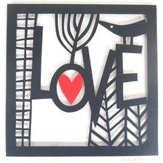 Caroline Rees - papercut wall hung works