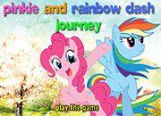 Raimbow Dash y Pinkie Pie Journey