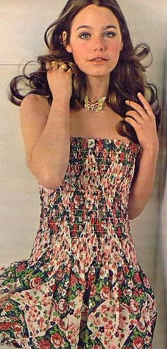 Susan Dey  The Partridge Family  Call me out dated. I like the dress.