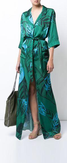 BORGO DE NOR maria robe tie dress, explore the latest arrivals on Farfetch now.