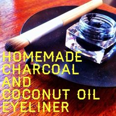 Activated charcoal makes a great chemical-free smokey eyeliner. | 42 Money-Saving Tips Every Makeup Addict Needs to Know
