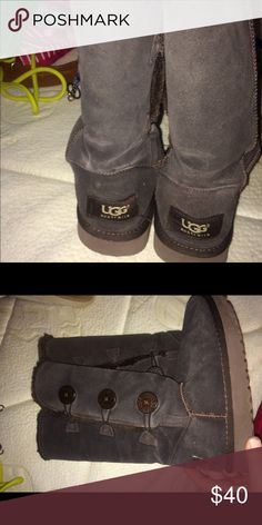 Uggs Tall three Bailey button uggs UGG Shoes Ankle Boots & Booties
