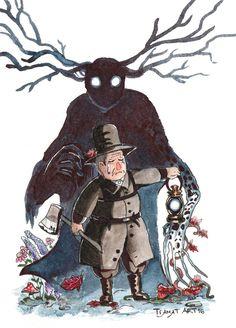Over The Garden Wall: Beast And Woodman By Tiamatart on Home Inteior Ideas 9923 Garden Wall Art, Over The Garden Wall, Garden Falls, Star Vs The Forces Of Evil, Fandoms, Gravity Falls, Cartoon Network, Beast, Artsy