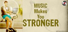 Music makes you STRONGER Strong, Make It Yourself, Music, How To Make, Home Decor, Musica, Musik, Muziek, Interior Design