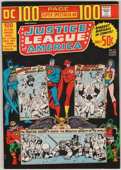 DC 100 Page Super Spectacular #DC-17 Justice League of America VF, Justice…